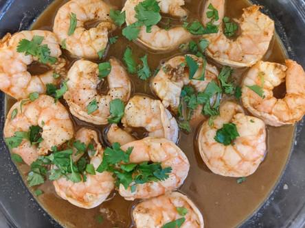Three-Alarm Shrimp Recipe