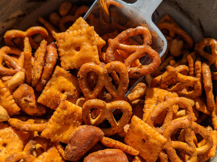 Some Like It Hot Snack Mix Recipe