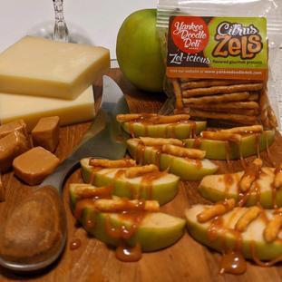 Zesty Caramel Apple Snack