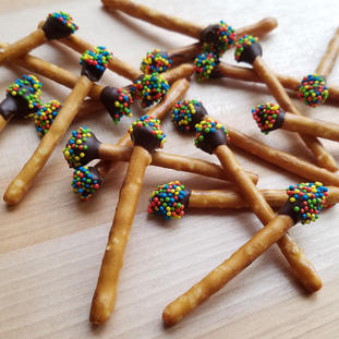 Chocolate Citrus Matchsticks