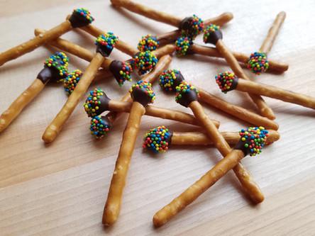 Chocolate Citrus Matchsticks Recipe