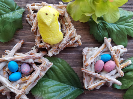 Citrusy Spring Nests Recipe