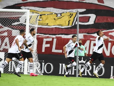 Vasco quebra tabu, vence o Flamengo e encosta no G-4 do Campeonato Carioca