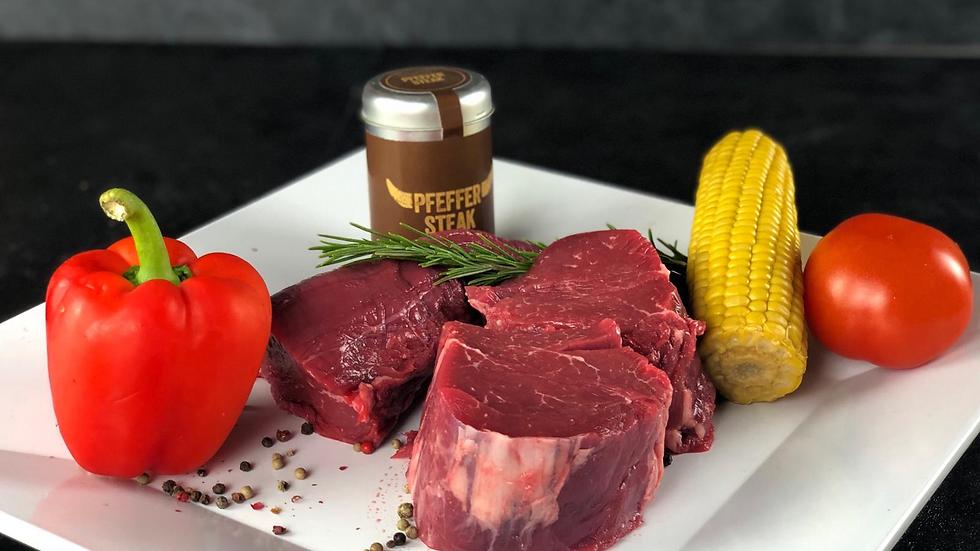Beefsteak / 4 Stück / 1 KG
