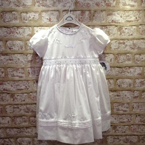 White/Blue Sarah Louise Dress