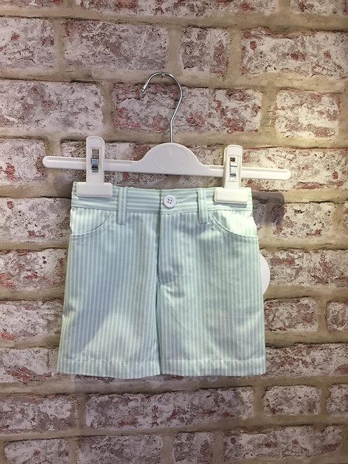 Mint/White Two Piece Short @ T-Shirt Set