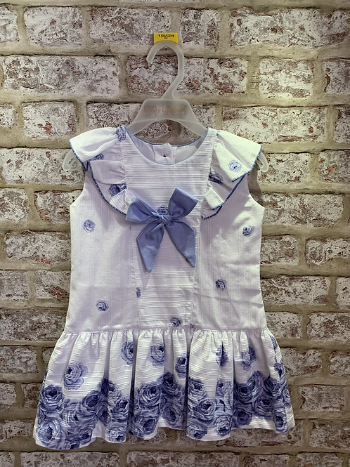 Pretty Originals Navy/Blue Floral Dress