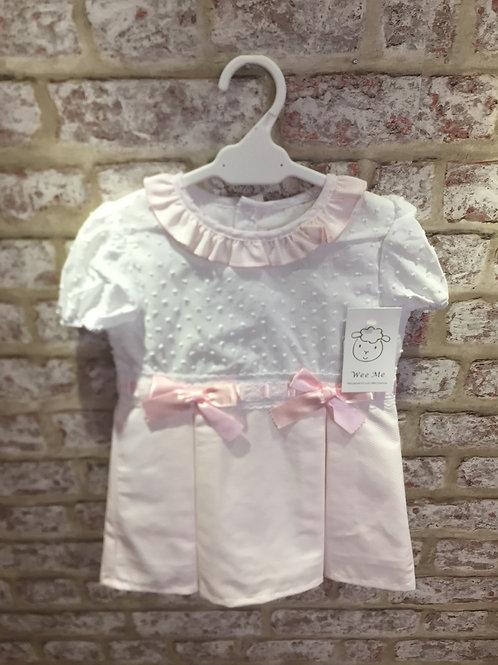 Pink/White Wee Me Dress