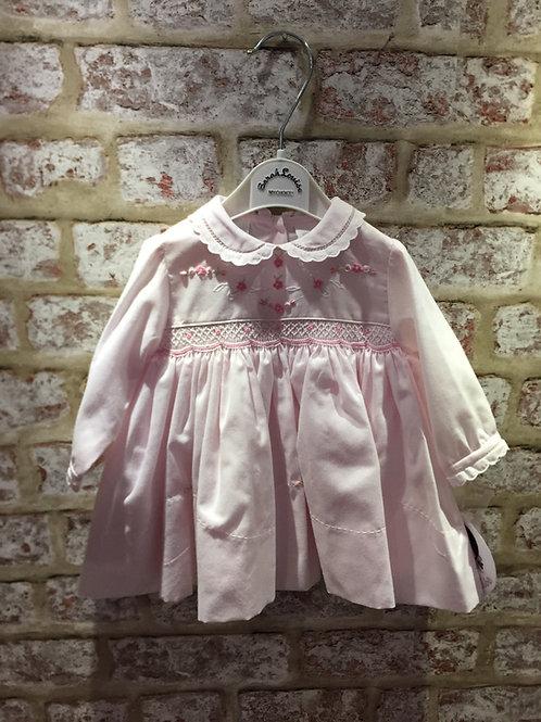 Sarah Louise Pink Hand Smocked Dress