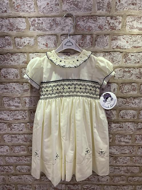 Lemon/Navy Dress