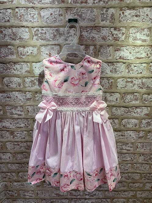 Pretty Originals Pink Floral/Pink Dress