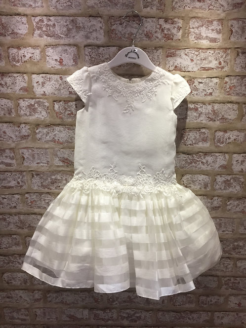 Ceremonial Sarah Louise Dress In Ivory