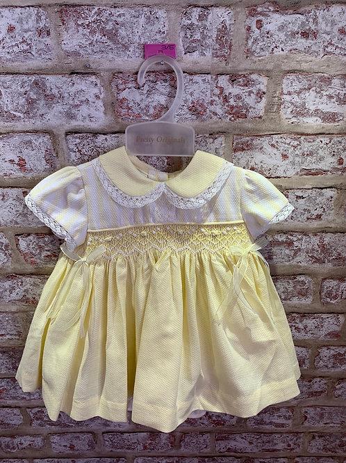 Pretty Originals Lemon Dress, Panties & Headband