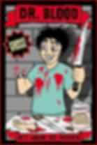Dr. Blood logo scary magic show