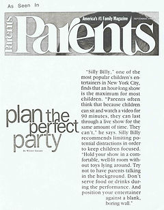 Silly Billy Parents Magazine