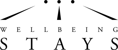 wellbeing stays logo black