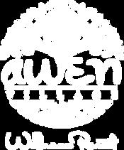 Logo Awen Village White Slogan.png