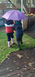Wet weather play