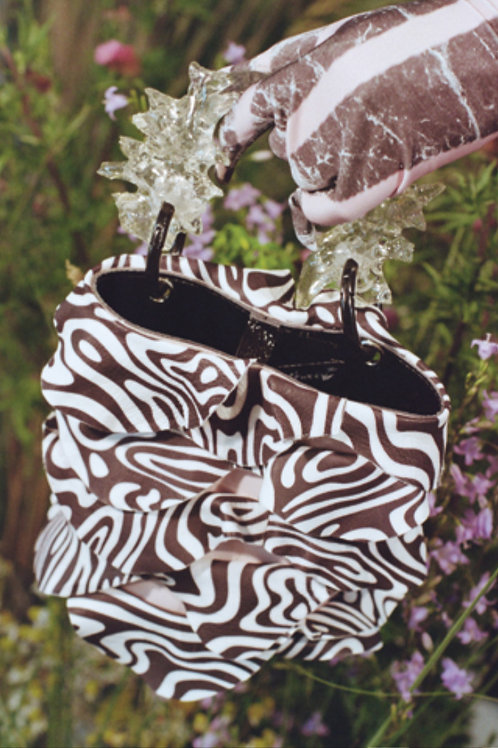 Black & White Psy Zebra Bag