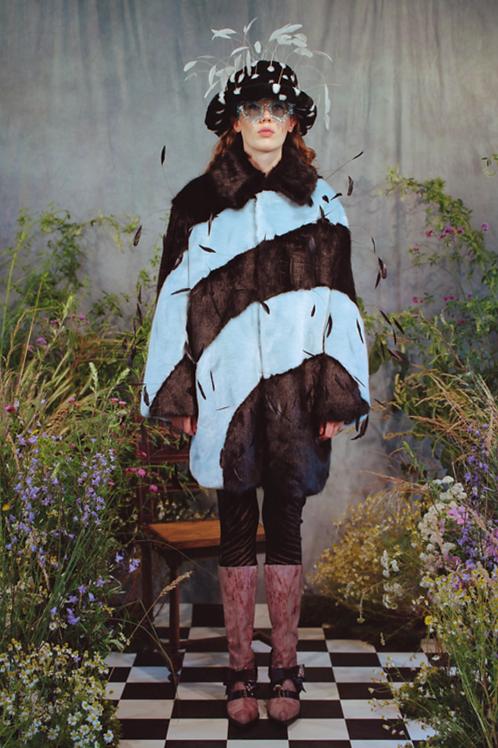 Cassy Fake Fur Coat