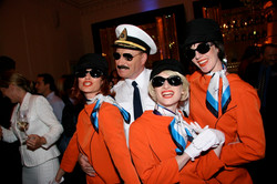 Captain Courageous and the Hostesses