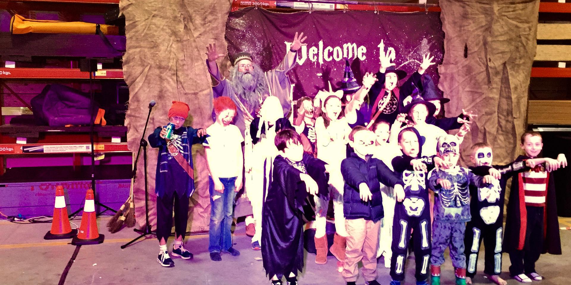 Hogwarts at Bunnings.