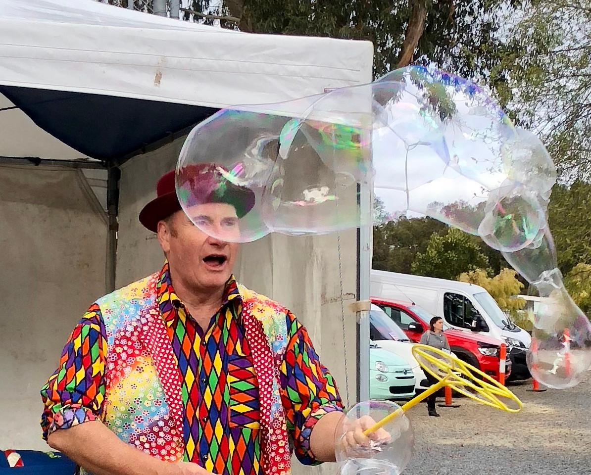 Benny's Bubbles.
