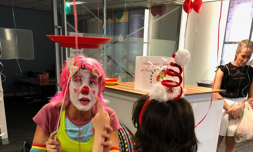 Crazy Daisy the Clown.