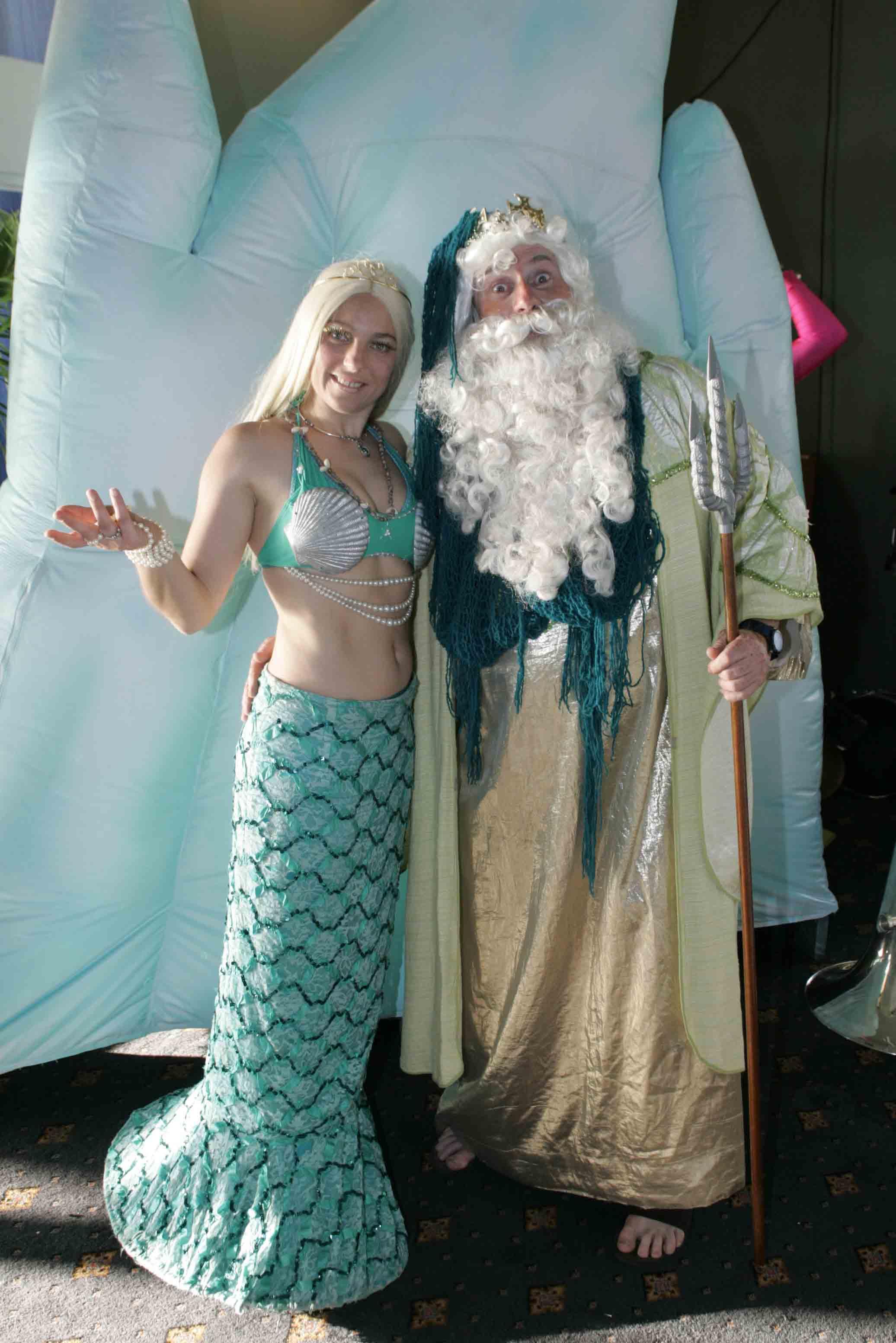 Neptune & Mermaid