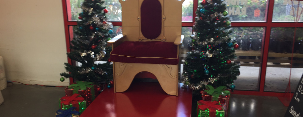 Santa's Throne Hire