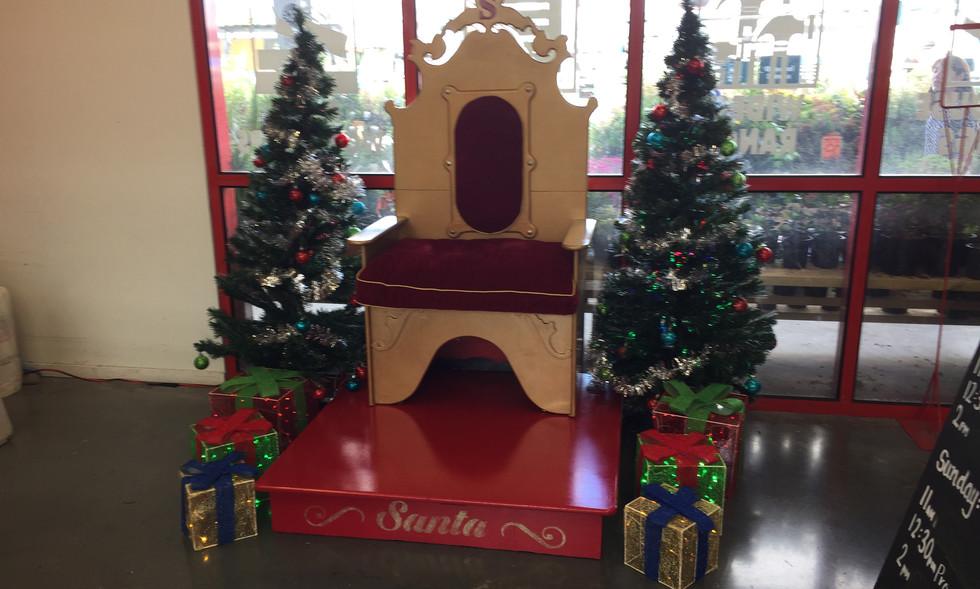 Santa's Throne Hire