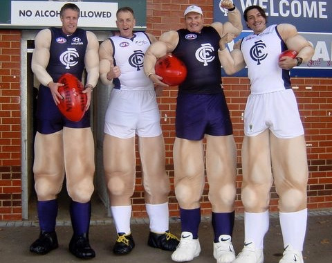 Tall AFL Footy Players.