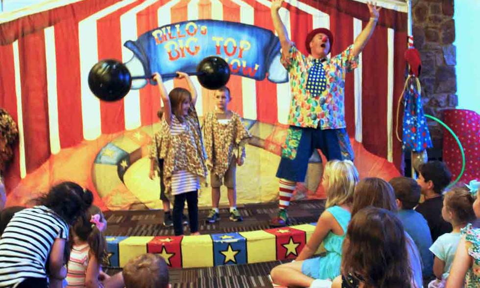 Billo's Big Top Show.