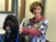 Dr. Wendy Bernstein with patient, Brune.