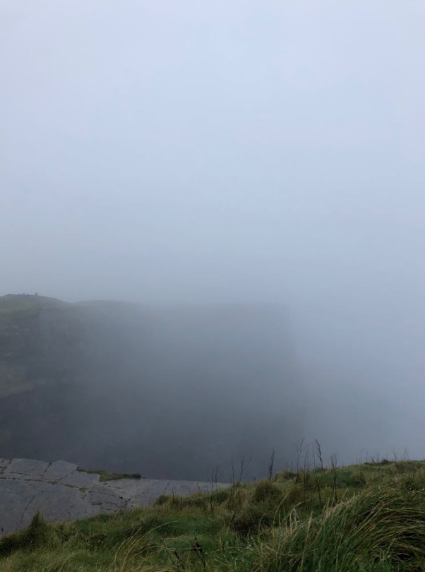 Our view of the Cliffs of Moher
