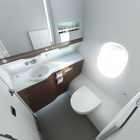 Aircraft Lavatory A380 Design