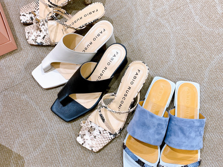 同行靴ショッピング、夏バージョン、パート1