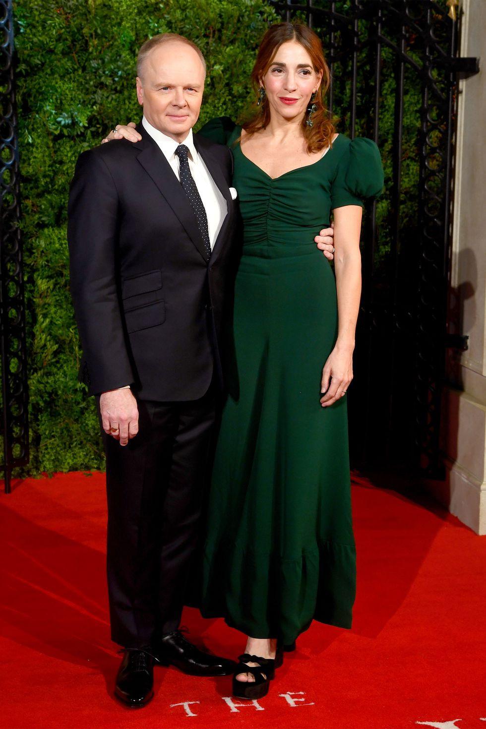 Jason Watkins and wife