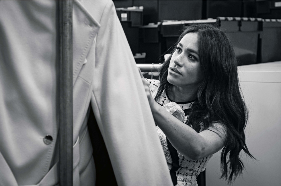 Meghan makes history again as guest editor of Vogue