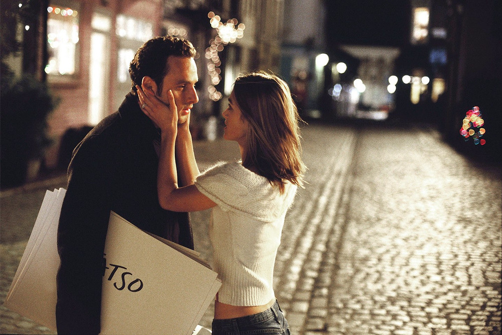 Love Actually (Keira Knightley and Andrew Lincoln)