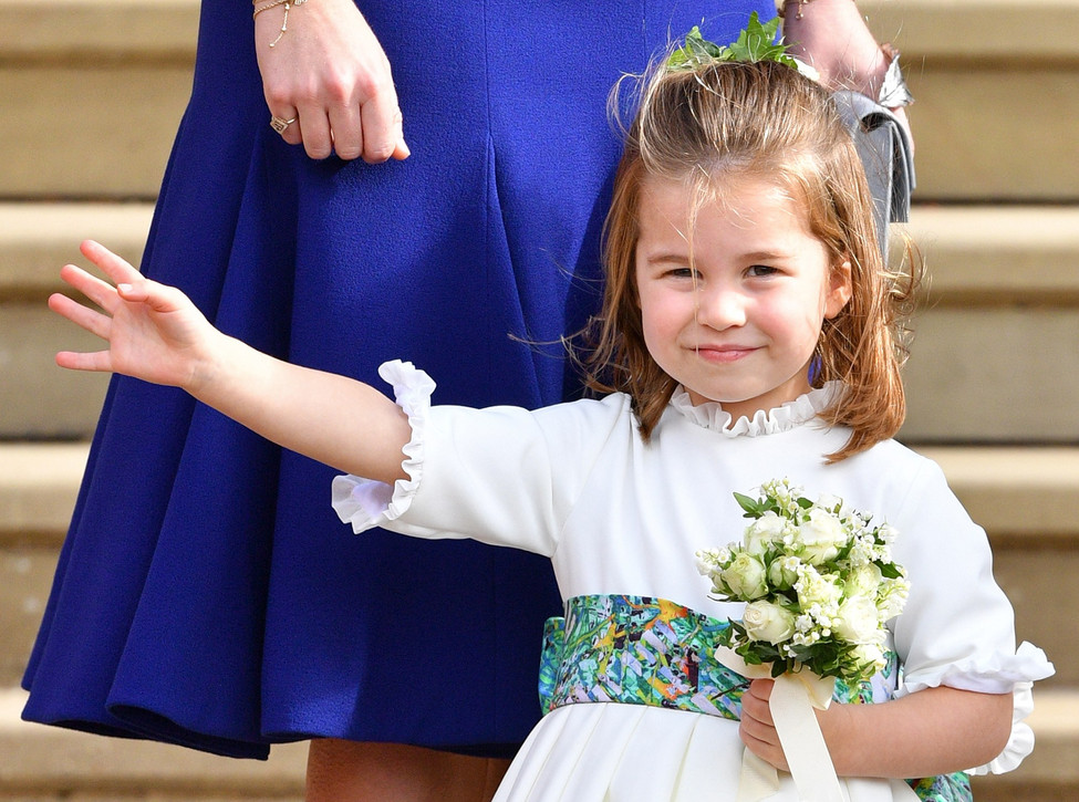 The sweetest moments of Princess Charlotte