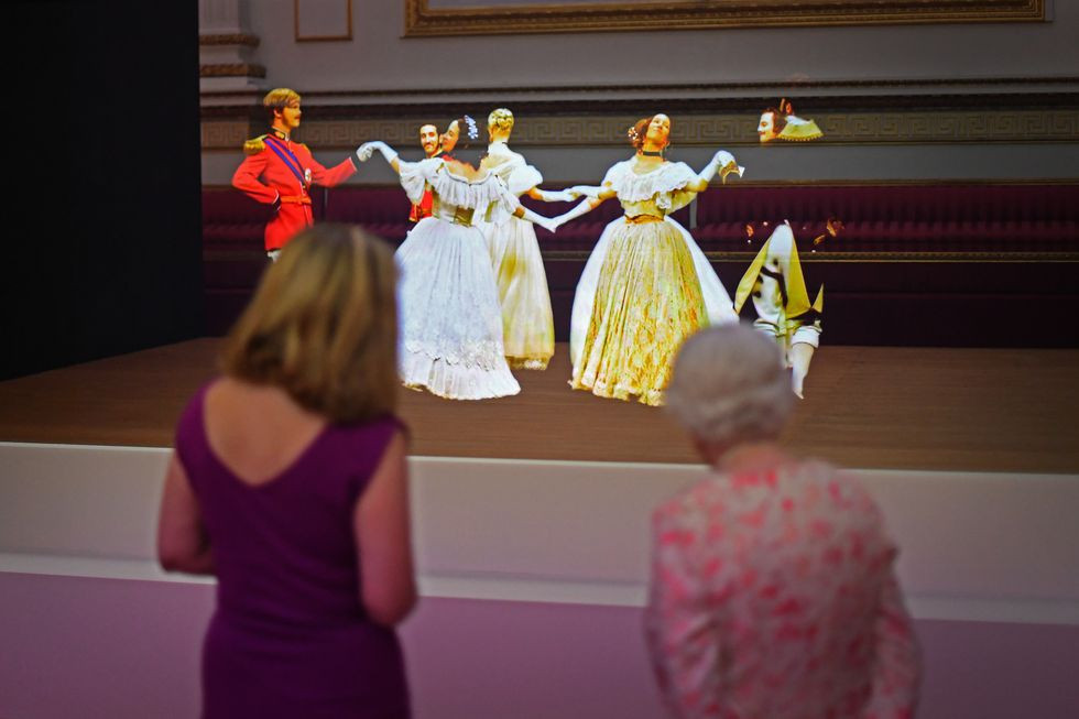 Queen Elizabeth, Buckingham Palace