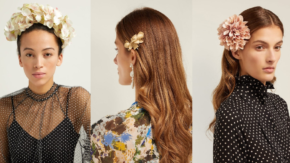 Meghan Markle's wedding florist launched first hair accessories line