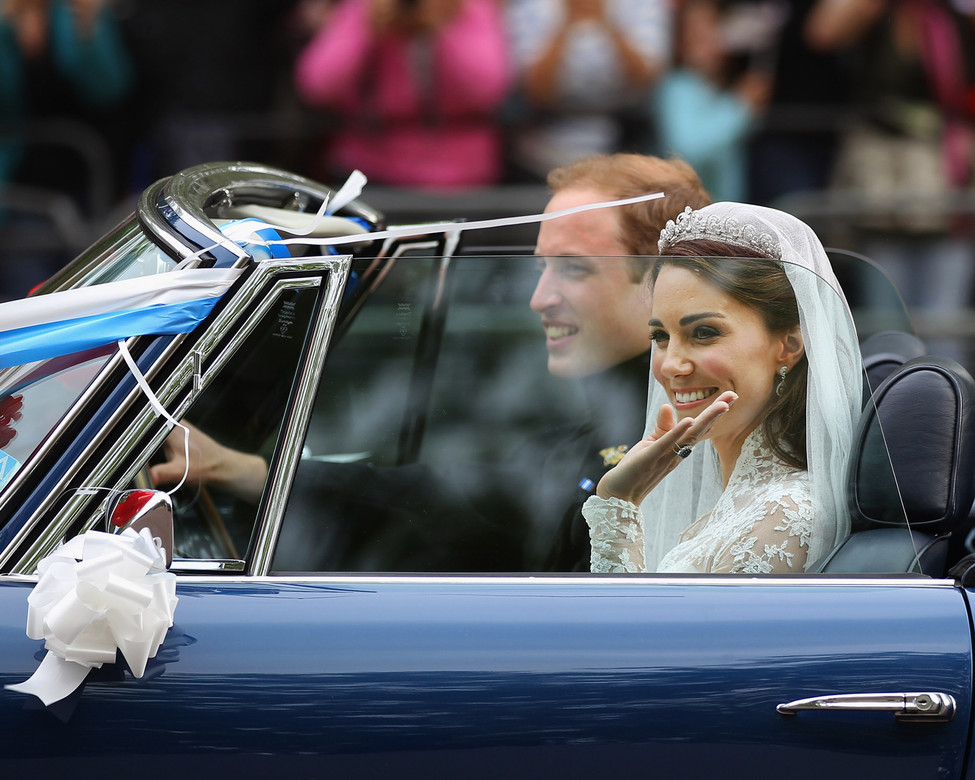 The sweetest moments of Prince William and Kate's Wedding