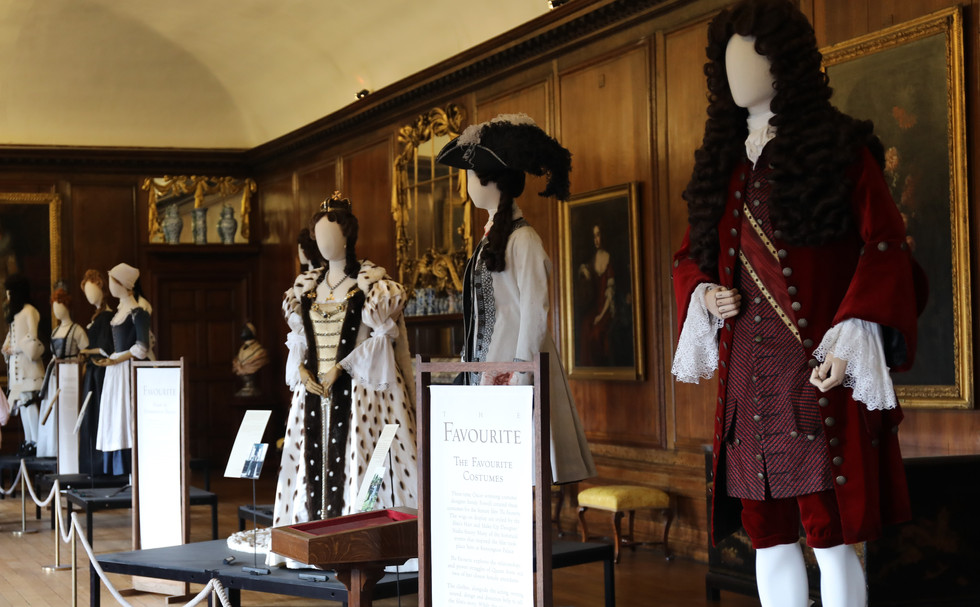 "The story behind ""The Favourite"" costumes"