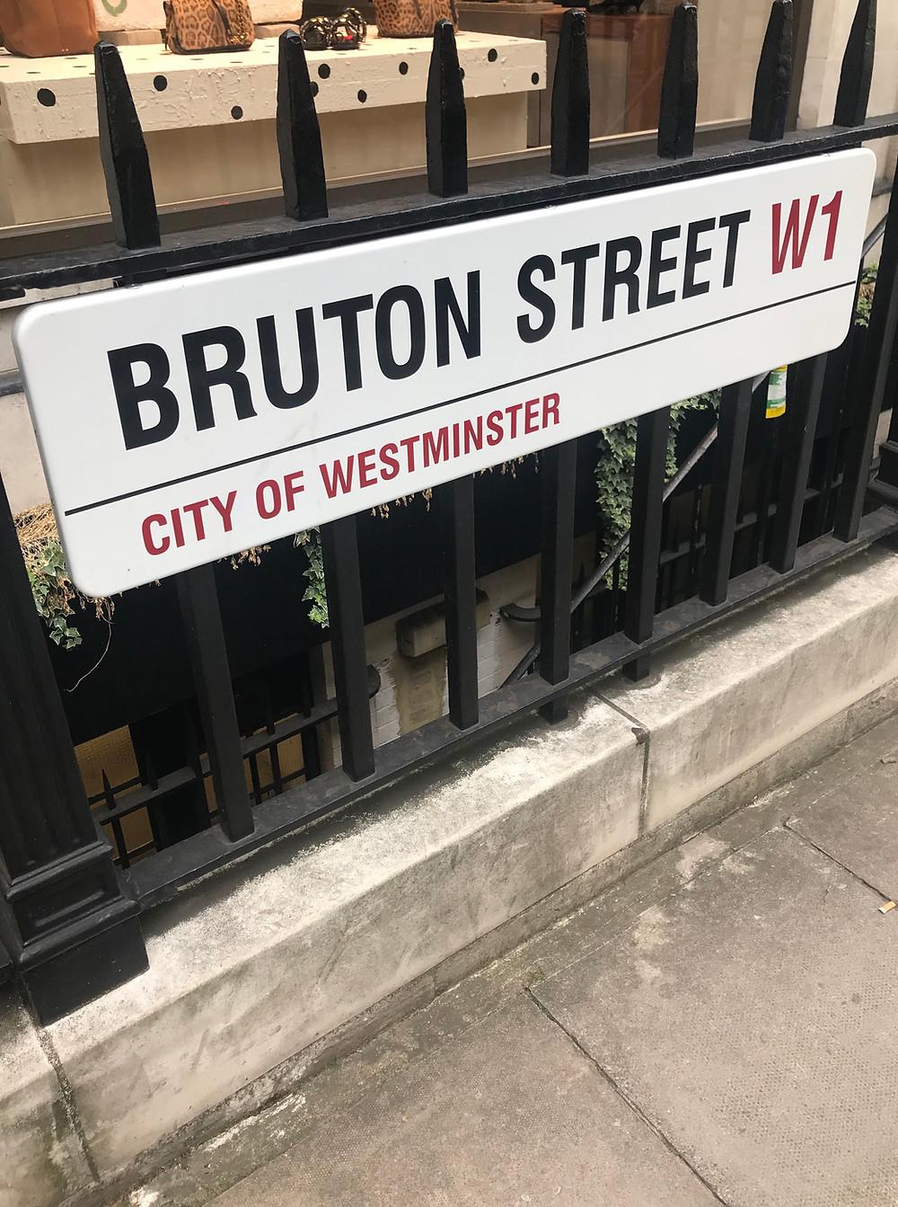 Bruton Street