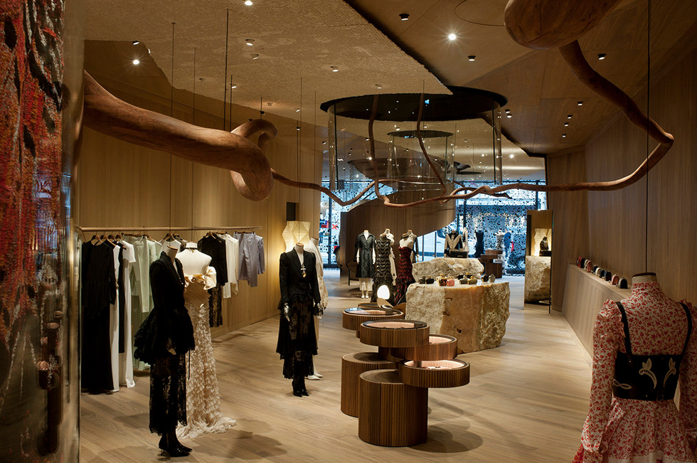 Alexander McQueen opens first flagship store in London