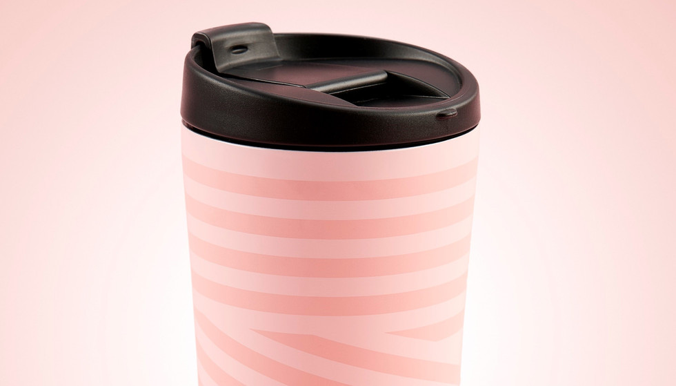 Starbucks launches new bottles and mugs in millenial pink