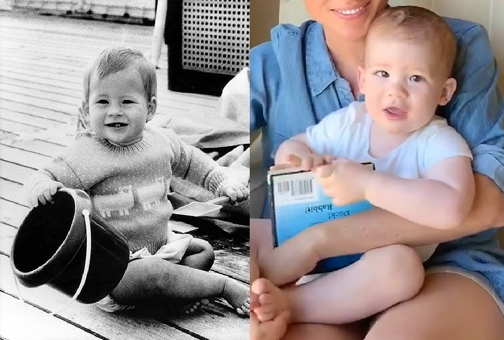 Prince Harry and Archie