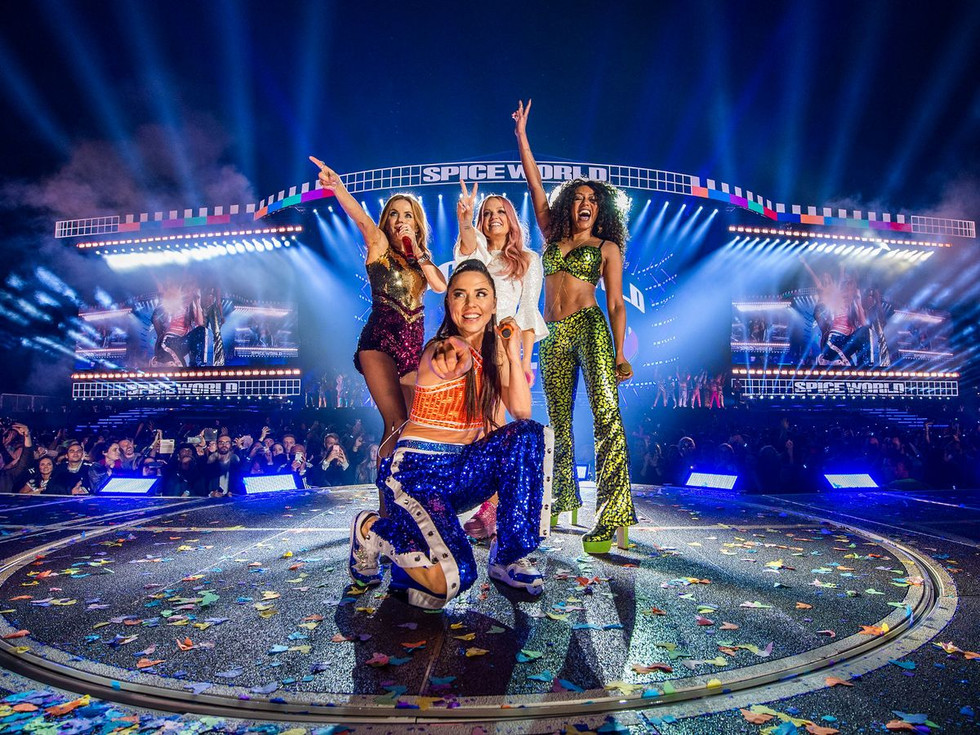 All about the new Spice Girls outfits